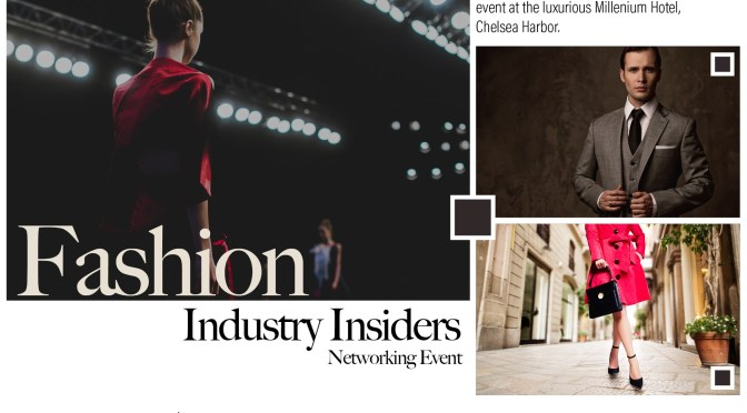 FASHION INDUSTRY INSIDERS – EVENT