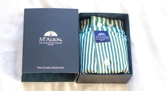 McAlson, the boxer shorts that packs a punch | Cuts for Him