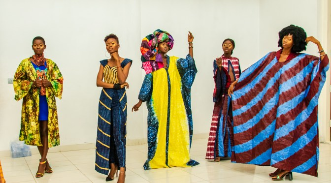 Edmond, Adesuwa, and Dior. Inspiration from Africa