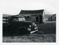 Outside Is America - James Eakins - Fuji FP 3000b45 - Sinar F 4x5