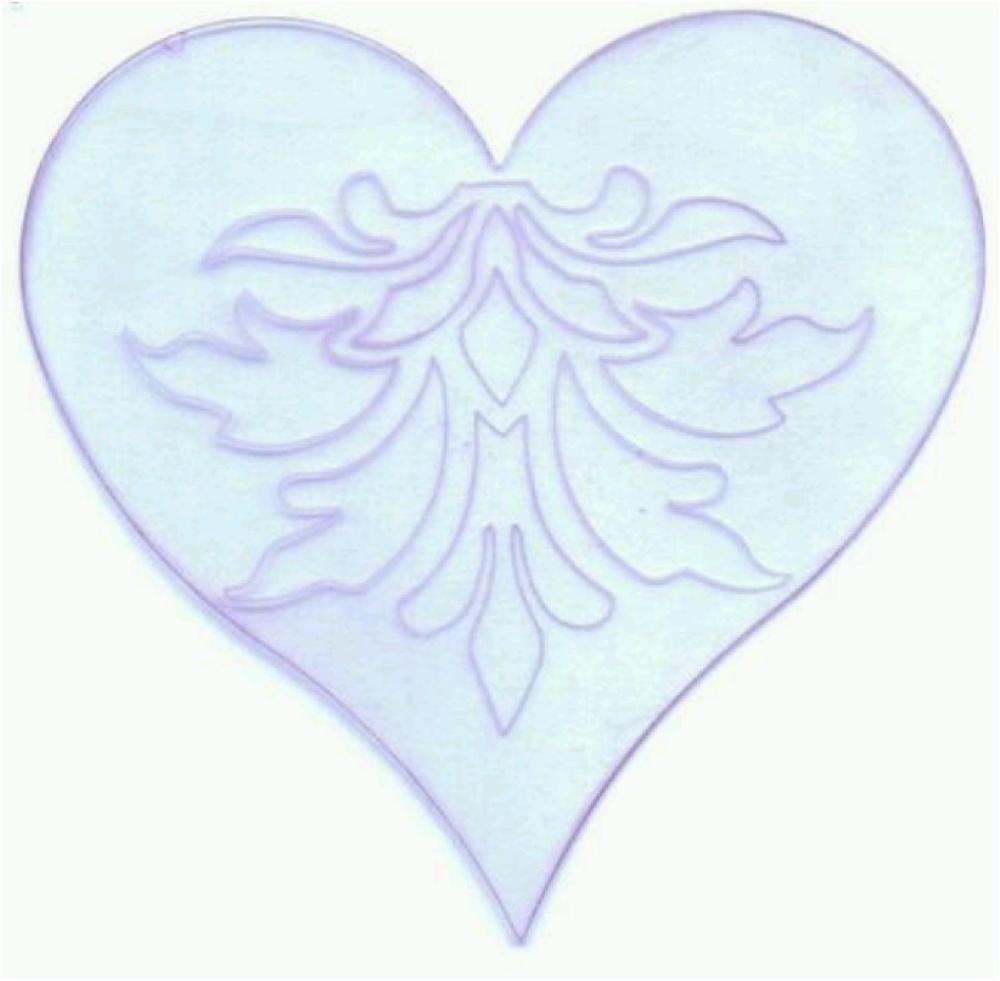 Engraved Acrylic Heart