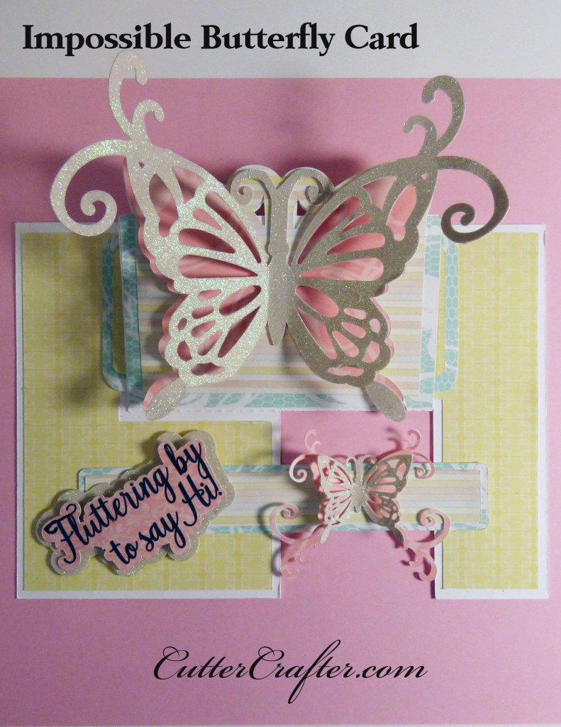 Impossible Butterfly Popup Card