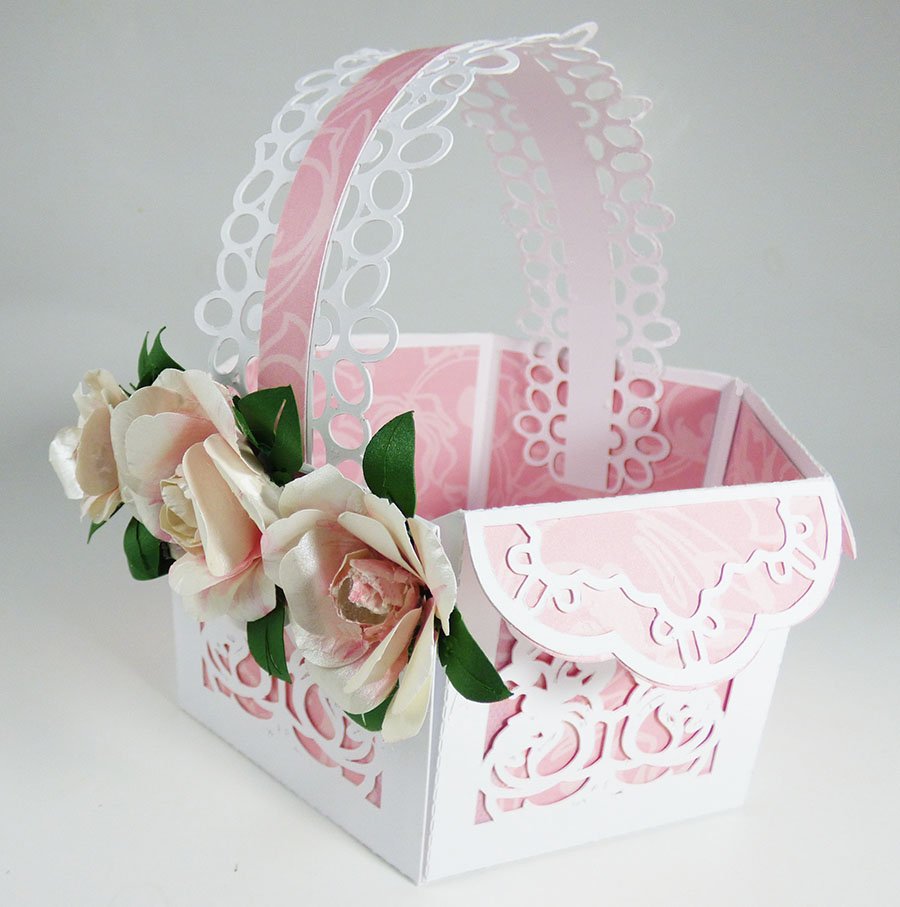How to Make a Lovely Peony Gift Basket