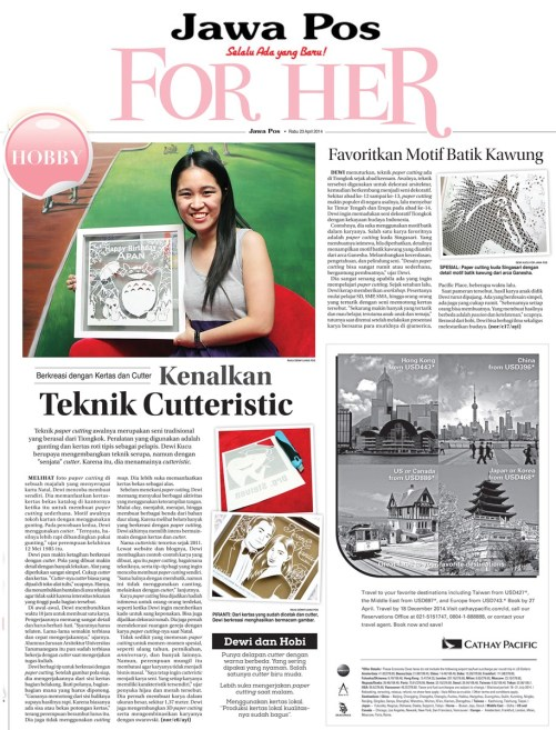 Cutteristic - Jawa Pos 23 April-8