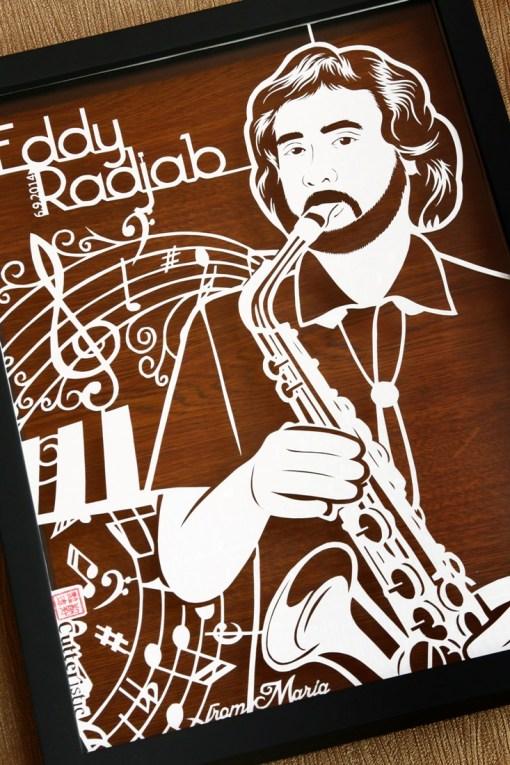 Cutteristic - Birthday Gift Eddy Radjab Jazz Saxophone 1