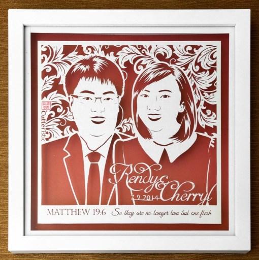 Cutteristic - Wedding Gift Cherryl Rendy 1