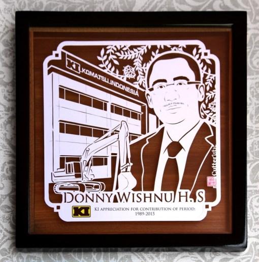 Cutteristic - Farewell Gift Komatsu Indonesia Donny Wishnu 10