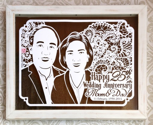 Cutteristic - Wedding Anniversary Gift Brokat 1