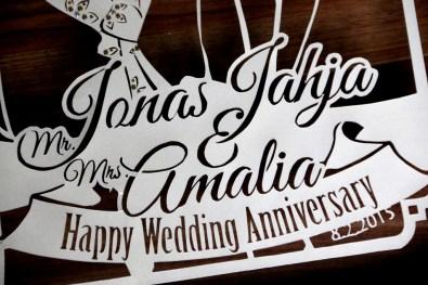 Cutteristic - Wedding Anniversary Gift Jonas Jahja Amalia Medion 6