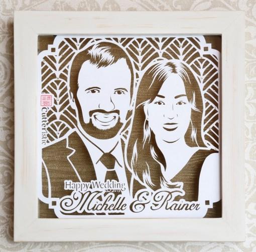 Cutteristic - Wedding Michelle Rainer 1