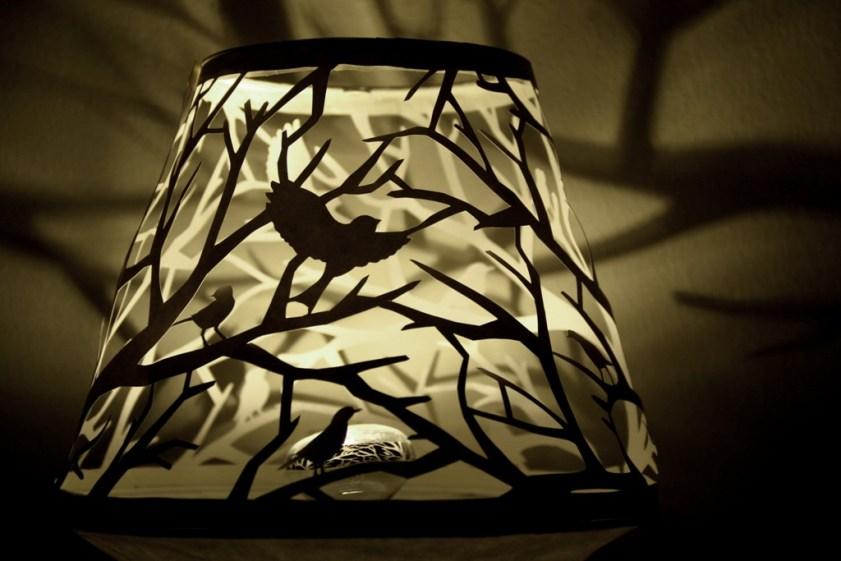 Cutteristic - Bird Forest Paper Cutting Lamp 2