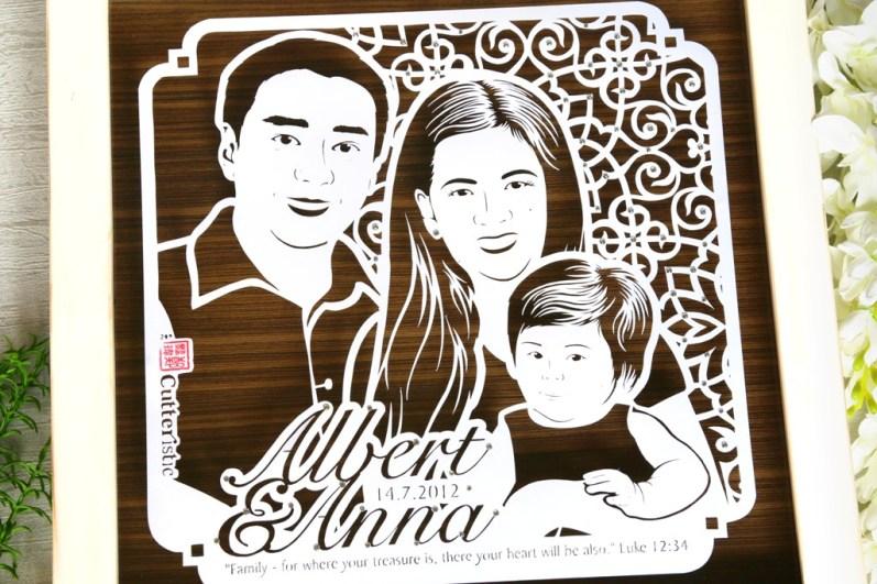 Cutteristic - Anniversary Albert Anna Farian 2