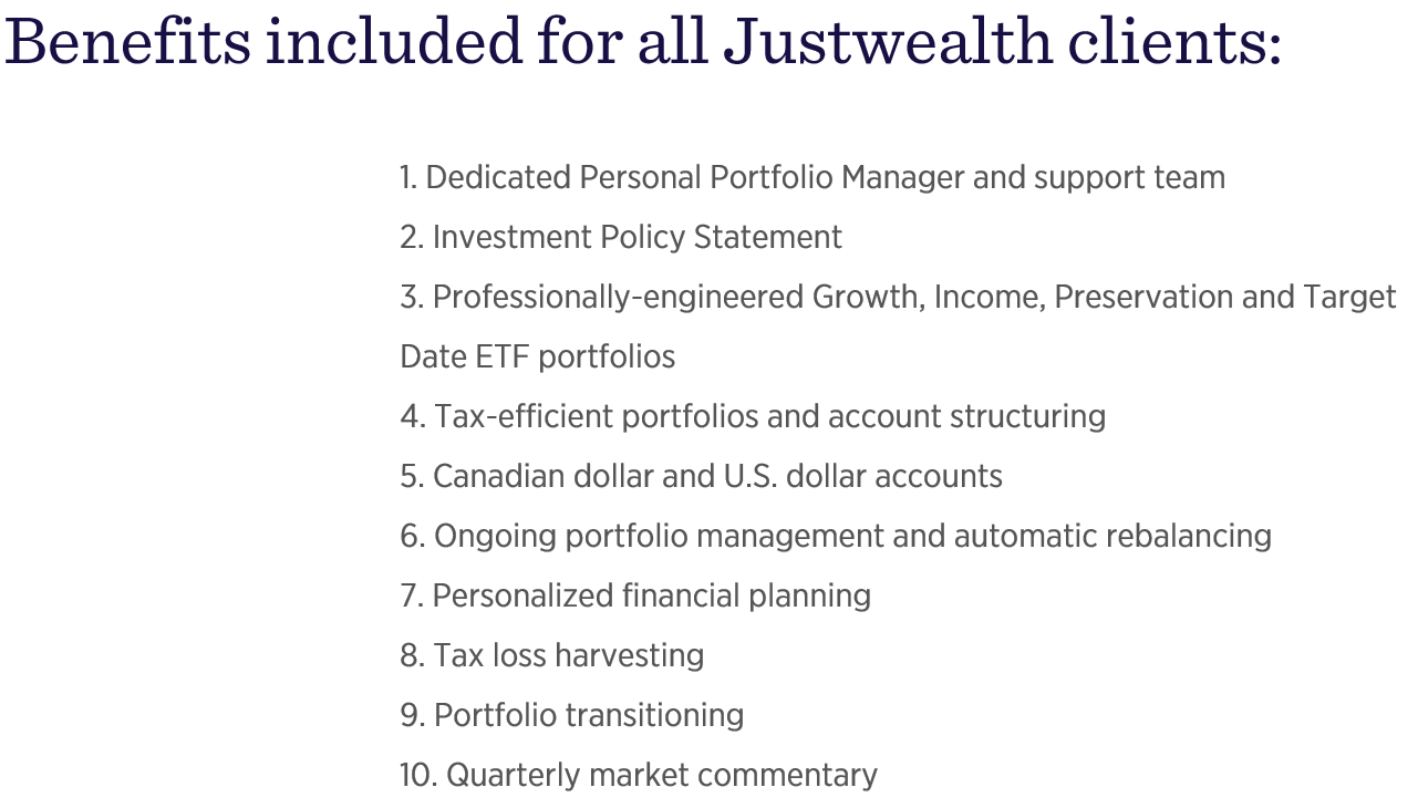 Justwealth Offering