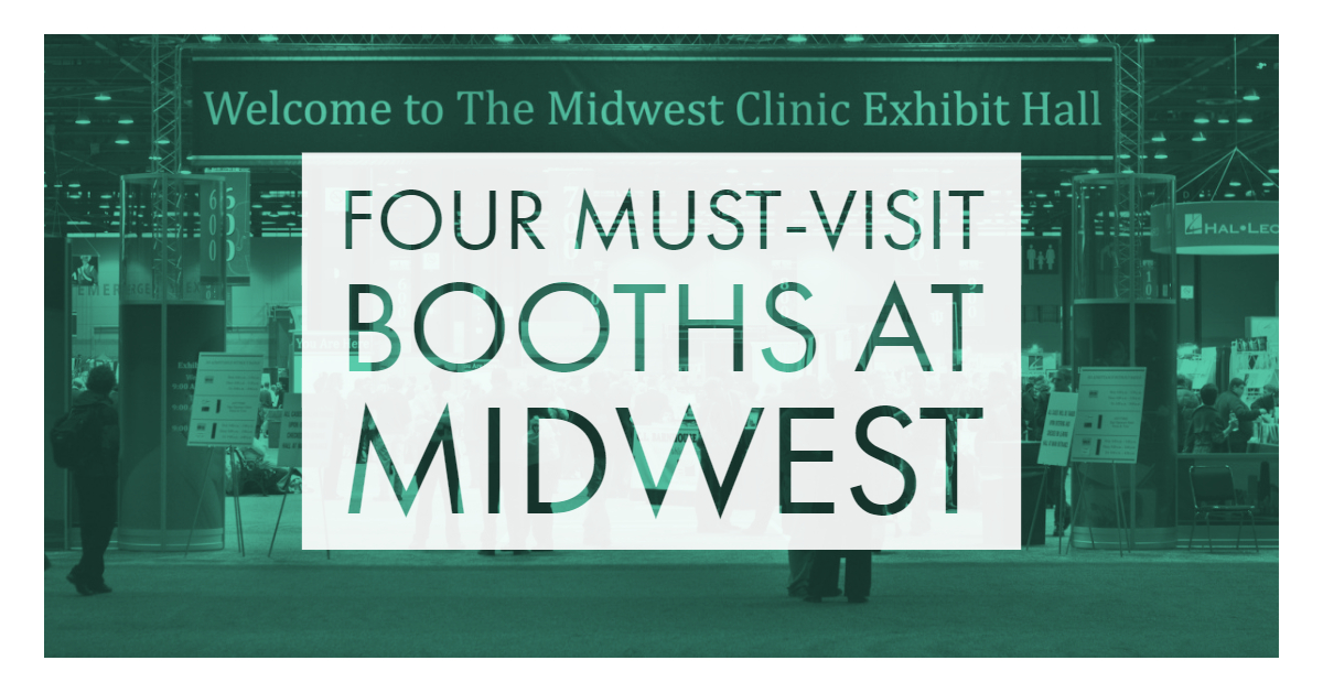 Four Must-Visit Booths at This Year's Midwest Clinic