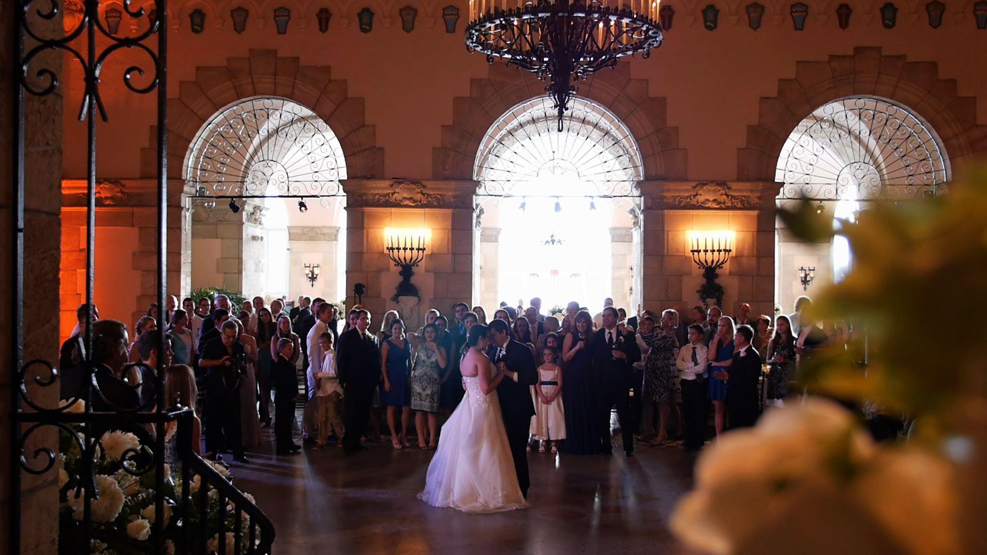 wedding at Flagler Museum