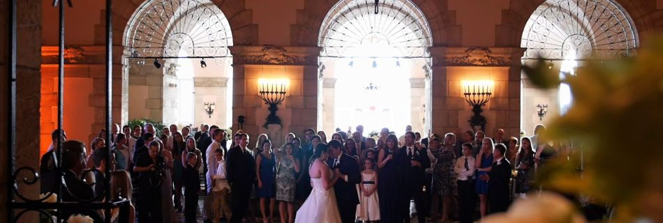 wedding at Flagler Museum