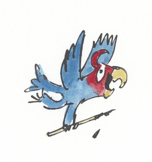 Quentin Blake Little Bird Avatar