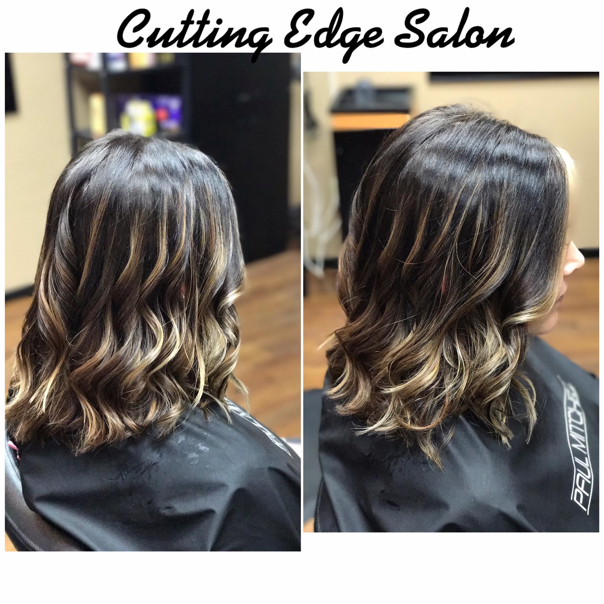 Cutting Edge Salon Foley MN hair style