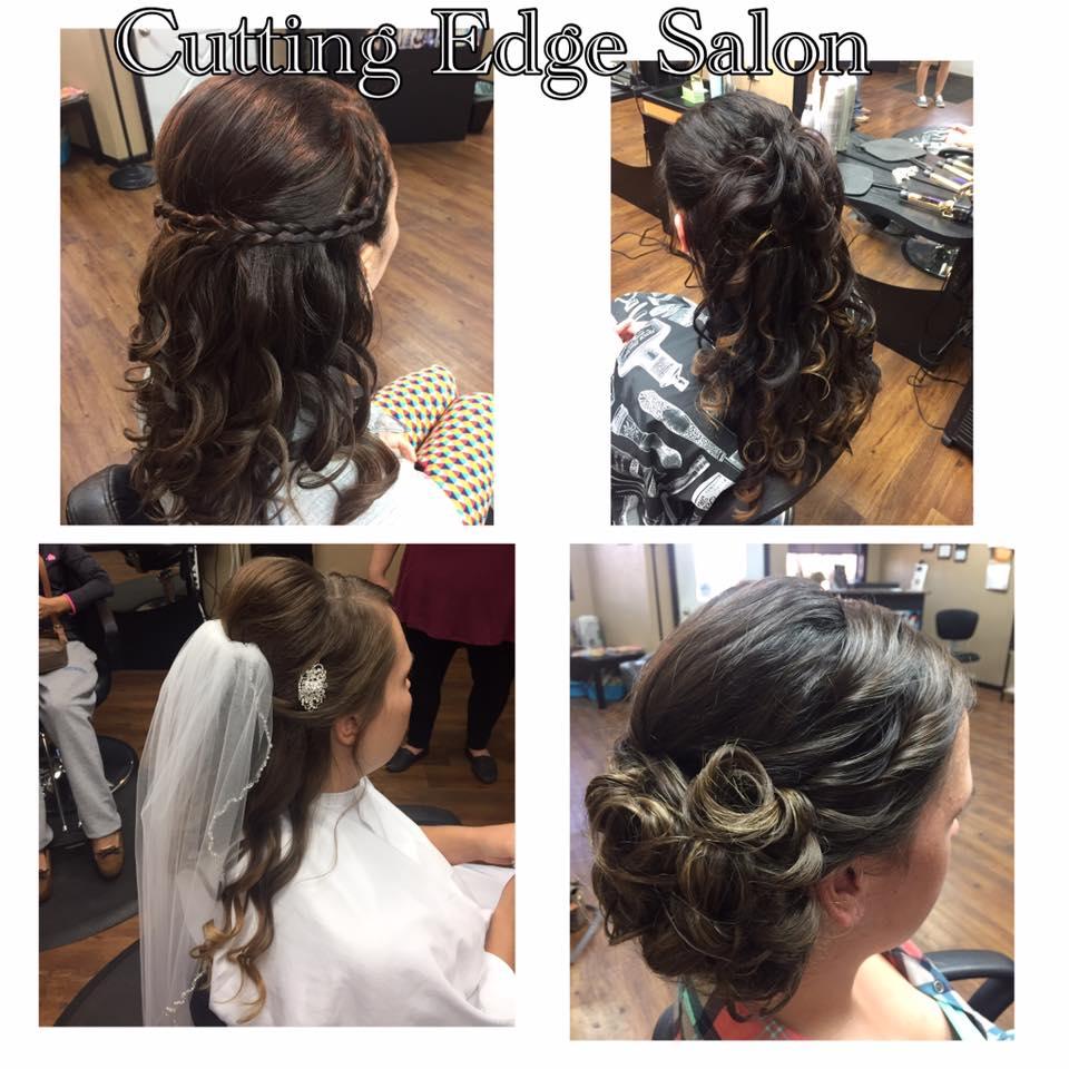 Cutting Edge Salon Foley MN Wedding