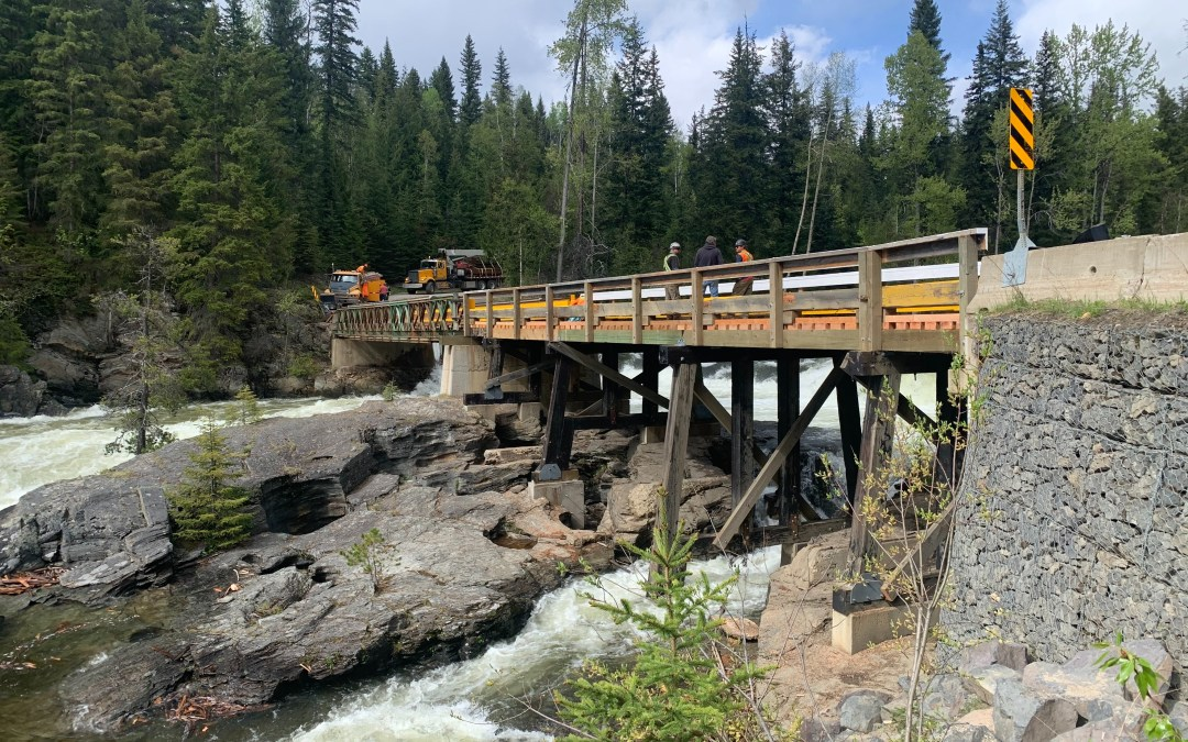 Mushbowl Bridge, Wells Gray Provincial Park