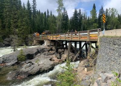 Mushbowl Bridge, Wells Gray Provincial Park