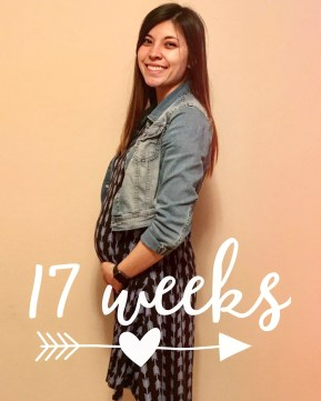 17 weeks || Morning sickness was still going strong and was feeling huge already