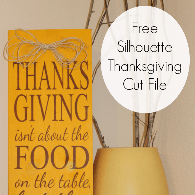 Download Free Commercial Use SVG Thanksgiving Sign Cut File ...