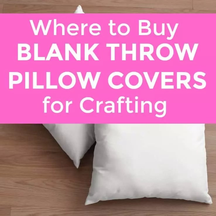 where to buy blank throw pillow covers