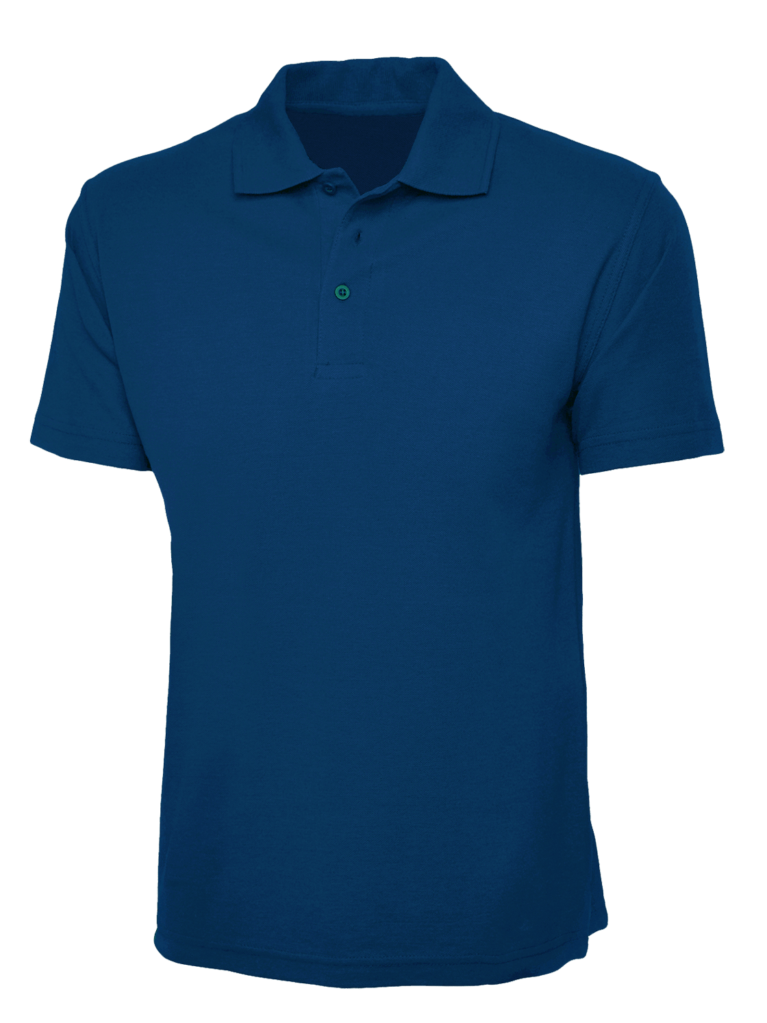 plain aqua blue polo shirt � cutton garments
