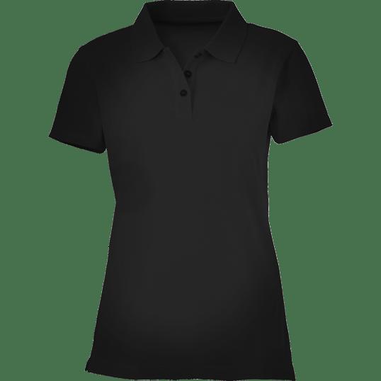 e725dc58 Plain Black Women's Polo Shirt – Cutton Garments