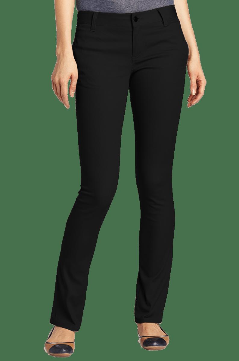 Tailored Black Women S Slim Pants Copy Cutton Garments