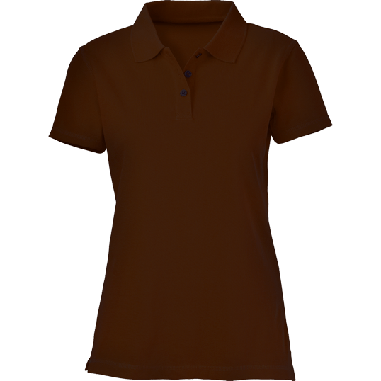 ad413872601 Plain Choco Brown Women s Polo Shirt – Cutton Garments