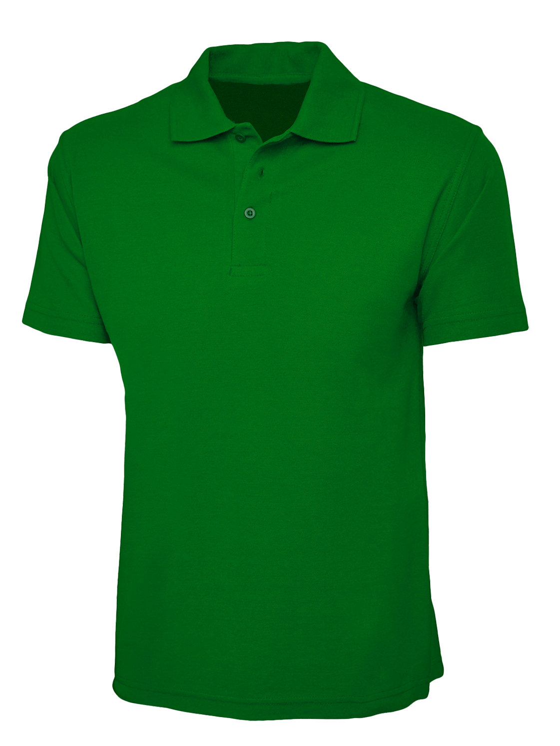 Plain Emerald Green Polo Shirt – Cutton Garments