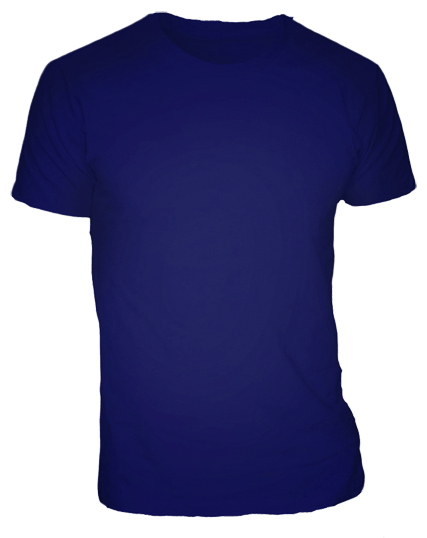 Navy Blue T Shirt For Men Cutton Garments