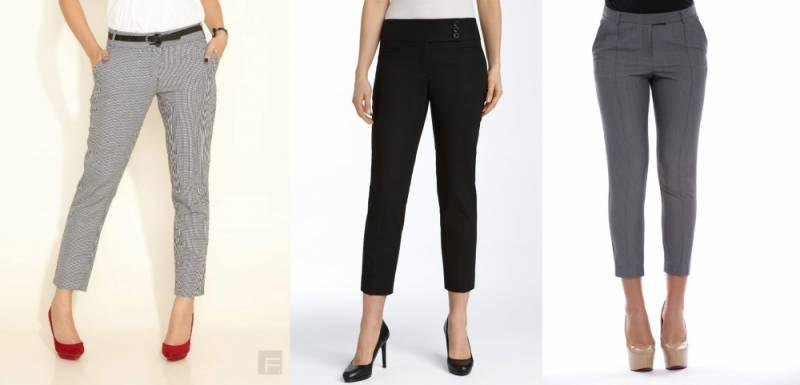 брюки женские по щиколотку фото минобороны россии