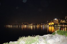 The other side of Montreaux by night
