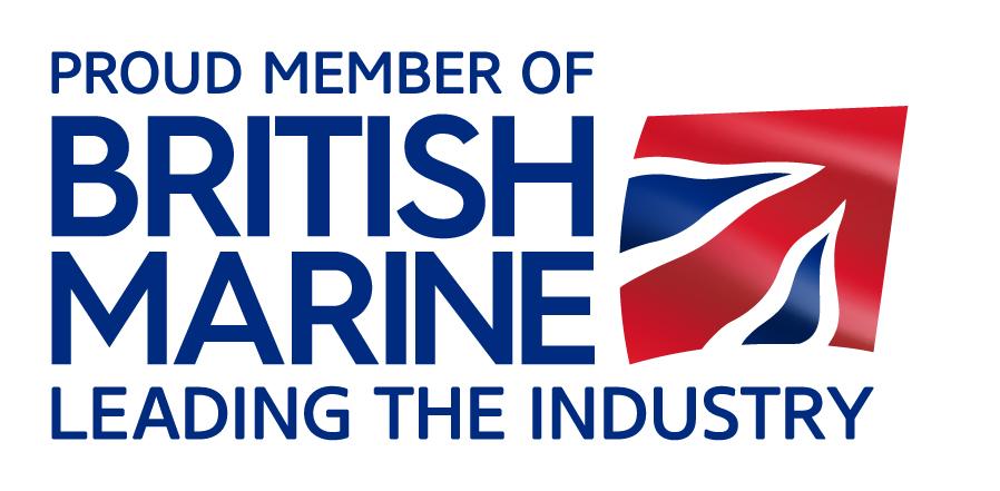 Proud Member of British Marine logo - RGB for web