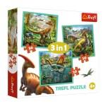 Cuy Games - INFANTIL - 3 IN 1 DINOSAURIOS -