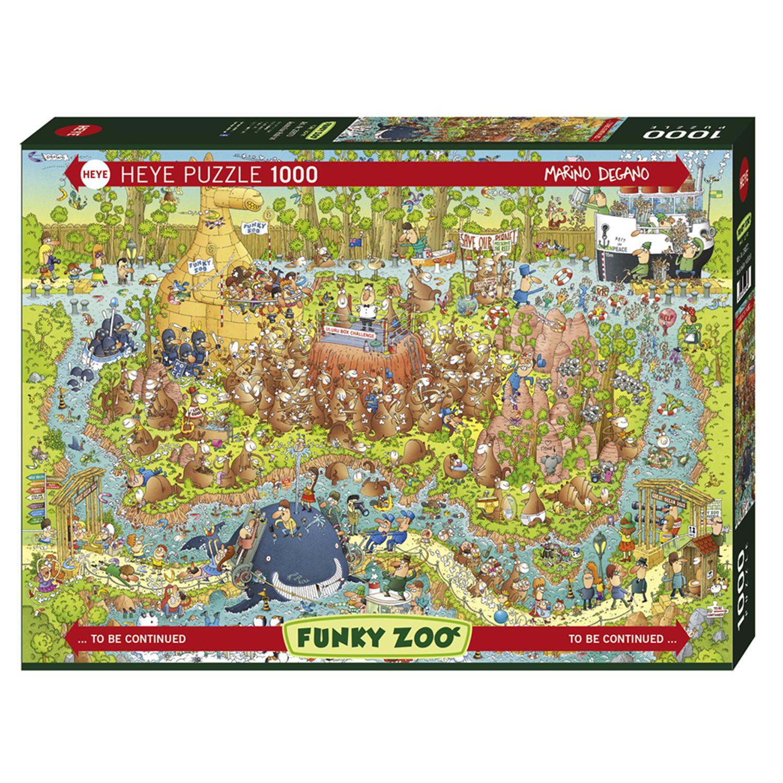 Cuy Games - 1000 PIEZAS - AUSTRALIAN HABITAT -