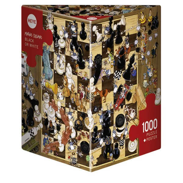 Cuy Games - 1000 PIEZAS - BLACK OR WHITE -