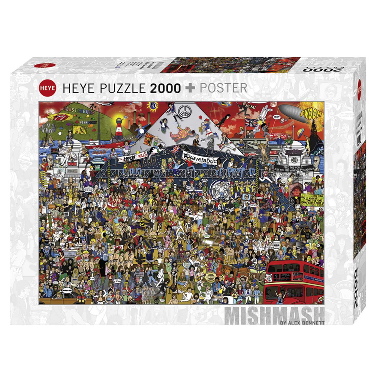 Cuy Games - 2000 PIEZAS - BRITISH MUSIC HISTORY -