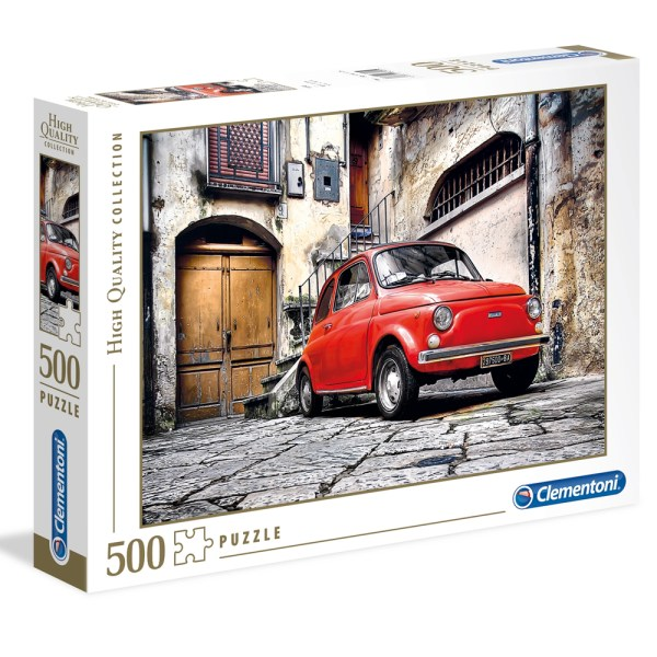 Cuy Games - 500 PIEZAS - CARRO ROJO -