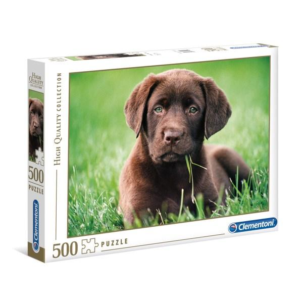 Cuy Games - 500 PIEZAS - CHOCOLATE PUPPY -
