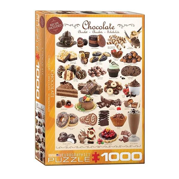 Cuy Games - 1000 PIEZAS - CHOCOLATE -