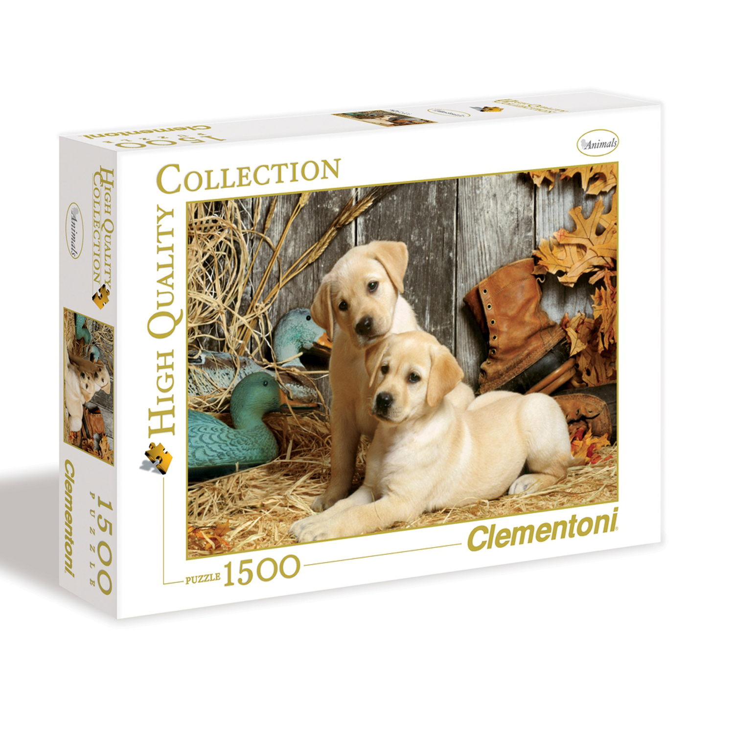 Cuy Games - 1500 PIEZAS - HUNTING DOGS -