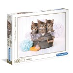 Cuy Games - 500 PIEZAS - KITTENS AND SOAP -
