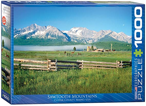 Cuy Games - 1000 PIEZAS - SAWTOOTH MOUNTAINS -