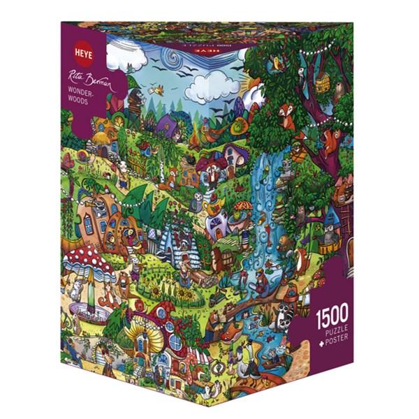 1500 PIEZAS – WONDERWOODS