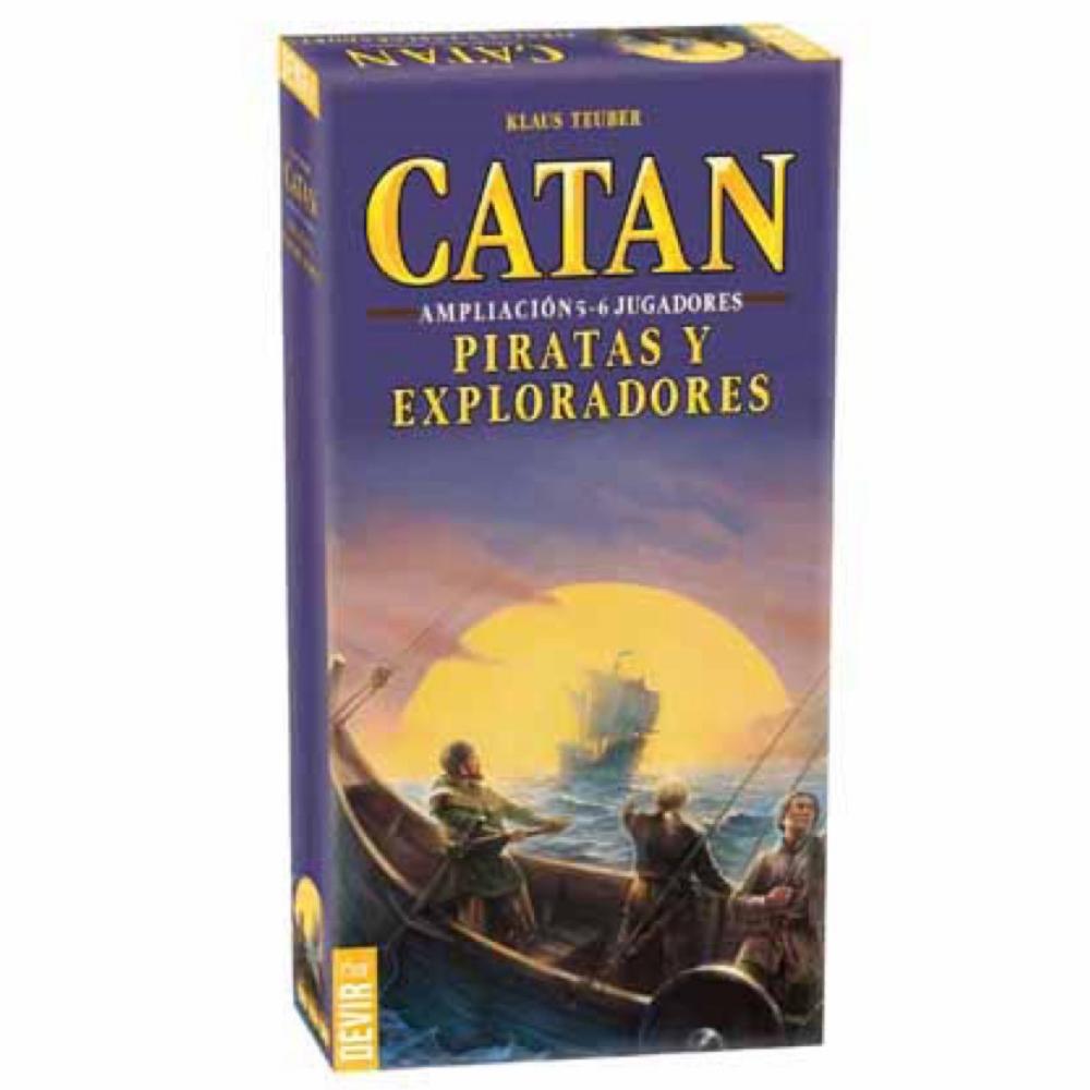 Cuy Games - CATAN - PIRATAS Y EXPLORADORES AMPLIACION -