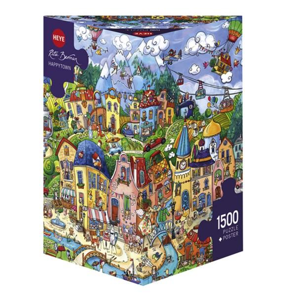 1500 PIEZAS – HAPPY TOWN
